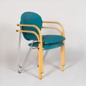 Håg Scala stol, turkis