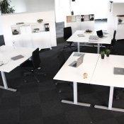 Komplet kontor til 6 pers. - SET PÅ TV.
