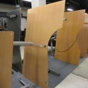 Bondo hæve-/sænkebord - Højrevendt - 180x110