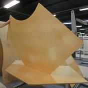 Bondo hæve-/sænkebord - 200x124 - Ahorn