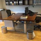 Gubi skrivebord - 200x100