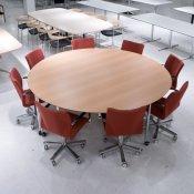 Rundt konferencebord