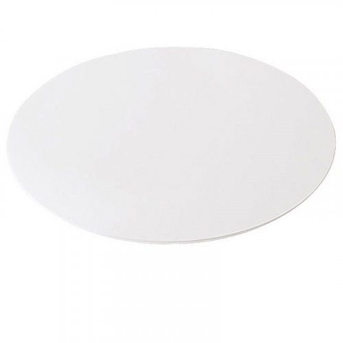 Rund bordplade, Ø:70 cm, hvid laminat