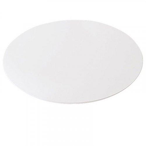 Rund bordplade - Ø: 120cm - hvid laminat