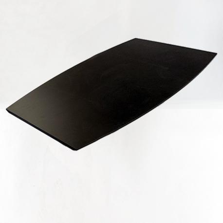 Konferencebordplade 360cm - sort linoleum