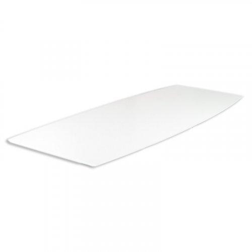 Konferencebordplade 420cm - Hvid laminat