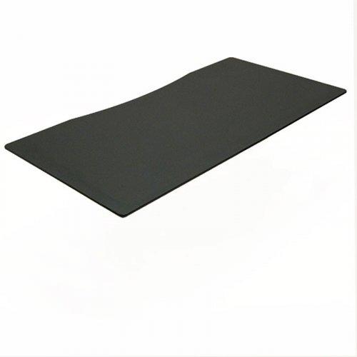 Ret: Bordplade centerbue, sort linoleum 160x80cm