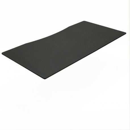 Ret: Bordplade centerbue, sort linoleum 180x90cm