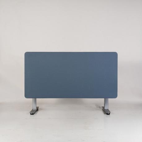 Bordhængt skillevæg - Blå polstring