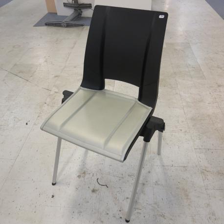 Norwegian design stol - Sort