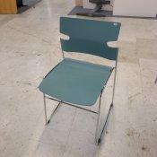 Materia stol - Lys blå