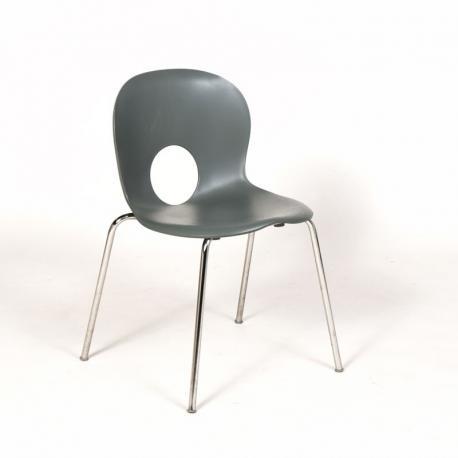 Raul Barbieri 'Olivia' stol - grå plast