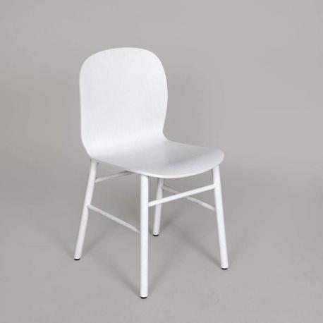 Nordic Chair jk61 hvid/hvid