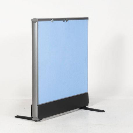 Kinnarps skillevæg - Lys blå - 80x110