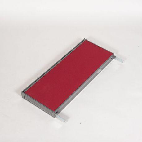 Rød top til skillevæg