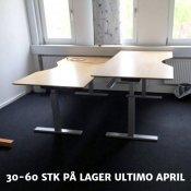 Duba B8 hævesænkebord med bøg