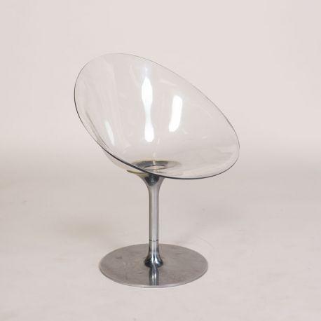 Eros chair - Kartell stol - Gennemsigtig plast