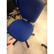 EFG kontorstol med bred rygstøtte