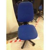 Throna kontorstol - blå