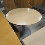 Cafébord - Ø:90 - Ahorn