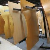 Hæve-/sænkebord - Centerbue - 180x110
