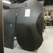 Hæve-/sænkebord - Centerbue - 200x108/85