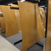 Hæve-/sænkebord - Fuld bue - 160x100