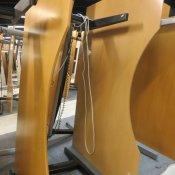 Hæve-/sænkebord - Centerbue - 180x110/90