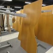 Duba hæve-/sænkebord - Centerbue - 180x100/80