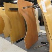 Hæve-/sænkebord - Centerbue - 180x100/70