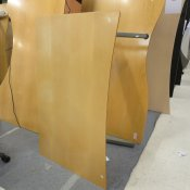 Hæve-/sænkebord - Fuld bue - 130x80/75