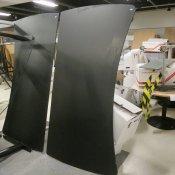 Holmris hæve-/sænkebord - Fuld bue - 200x110