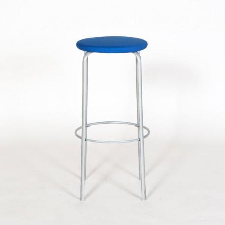 Kinnarps barstol - Blå polstring - H: 80