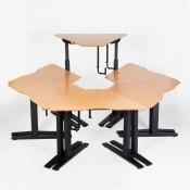 Hæve-/sænkebord - Teambord