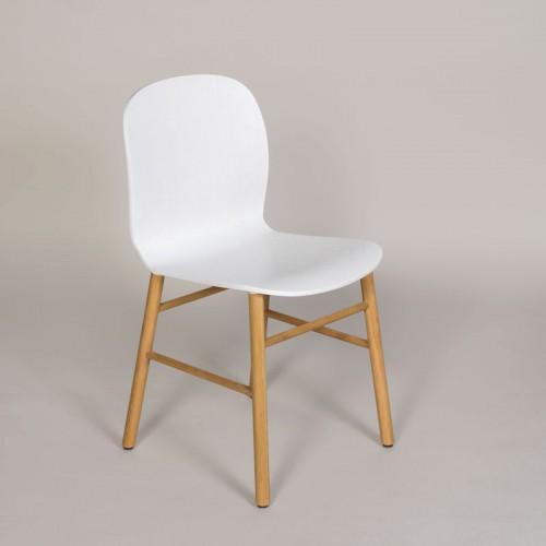 jk SixtyOne Chair - Hvid/eg