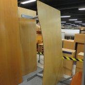 Hæve-/sænkebord - Ahorn - Centerbue - 180x90