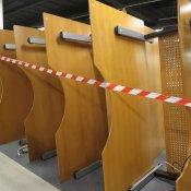 Hæve-/sænkebord - Centerbue - Bøg - 200x100