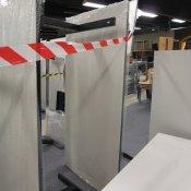 Hæve-/sænkebord - Hvid - Rektangulær - 180x90
