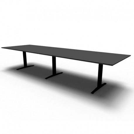 Jive rektangulært konferencebord m/ 2-delt plade