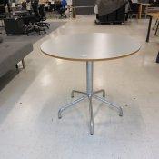 Cafébord - Grå - Ø: 80cm