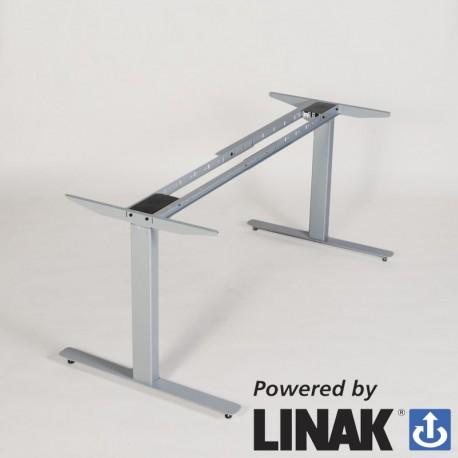 Odin m/ 2 motor Linak hæve-/sænkesystem - silver