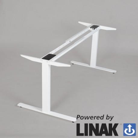 Odin m/ 2 motor Linak hæve-/sænkesystem - hvid