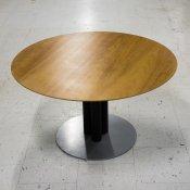 Cafébord - Lille rund med 3 søjlet fod