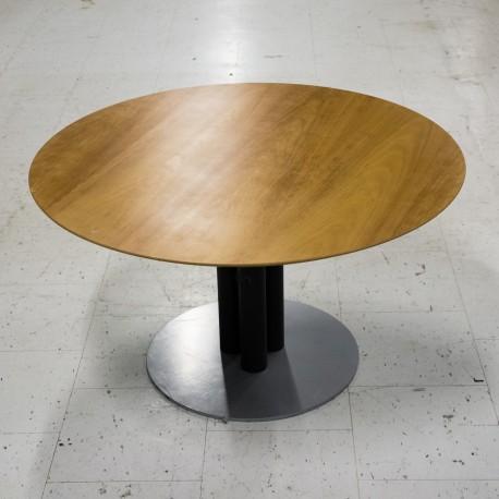 Cafébord - Lille rund med 3søjlet fod