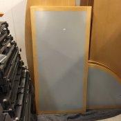 Kantinebord - Grå, rektangulært
