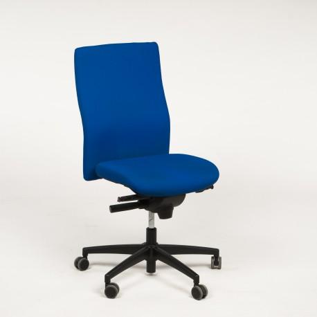 Trend Office kontorstol med blå polstring