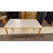 Magnus Olesen konferencebord - Bøg/grå - 140x80