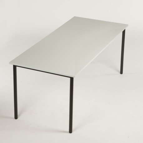 Fenja kantinebord med grå decor plade