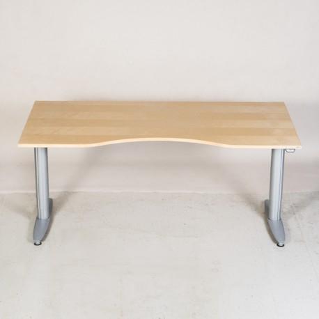 Kinnarps hæve-/sænkebord - Centerbue - 200x90