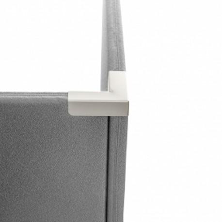 Sammenkoblingsbeslag til Alma (LB6500025) - Vinkel til 2 vægge - Silver
